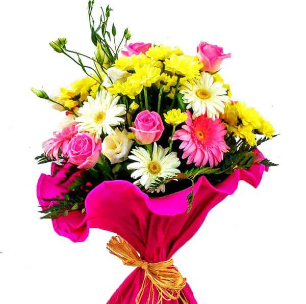 Ramo flores para cumplea os env o a domicilio en el d a - Como secar un ramo de rosas ...
