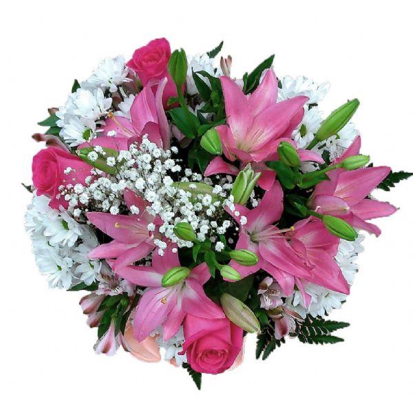 Ramos de flores colores mixtos estrega hoy a domicilio - Ramos para regalar ...