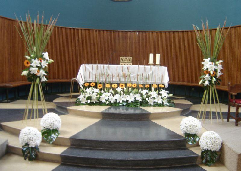 Decoracion Iglesia Para Primera Comunion ~ Centros de flores para Iglesias de Zamora