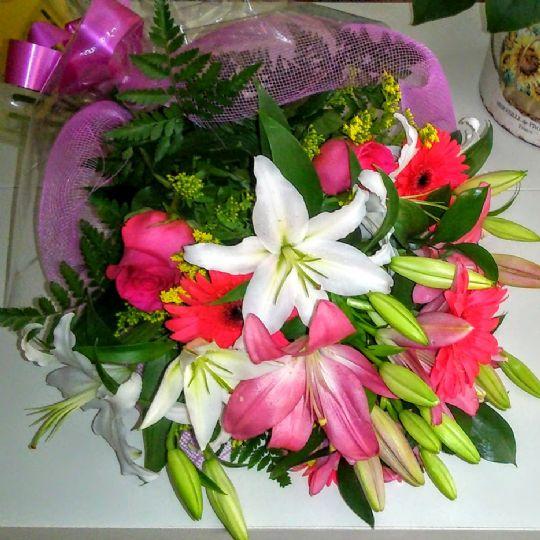 Envío de flores a domicilio en el barrio de Salamanca