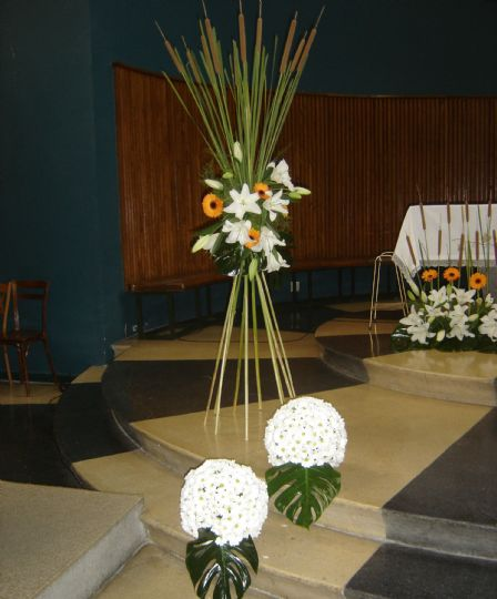 Como hacer centros de flores naturales para bodas - Como hacer centro de flores artificiales ...