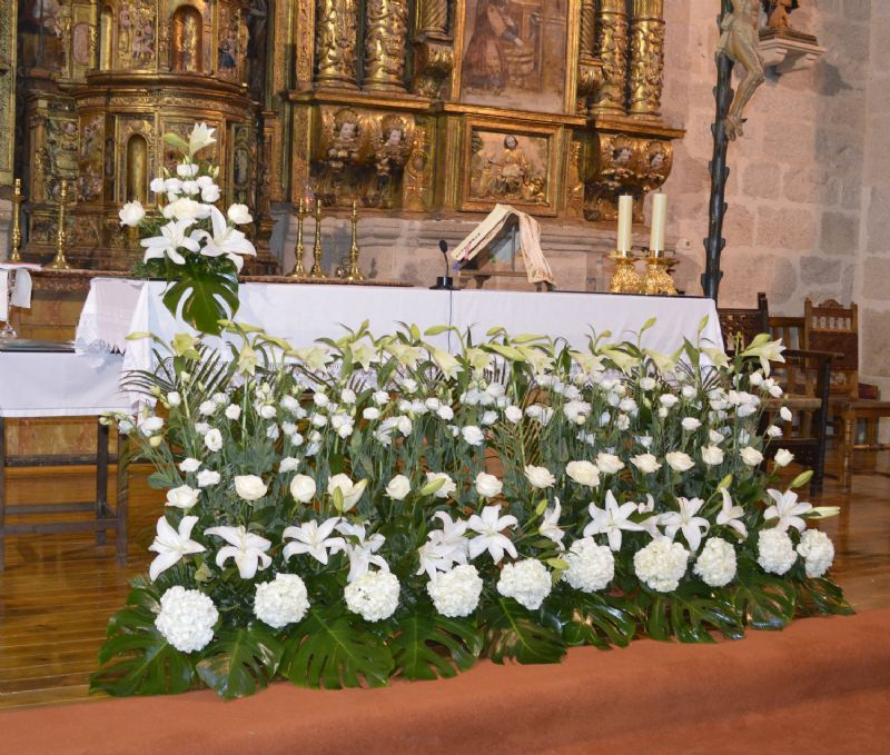 flores boda en almeida de sayago. decoramos tu boda