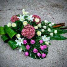 centros de flores naturales para llevar al cementerio