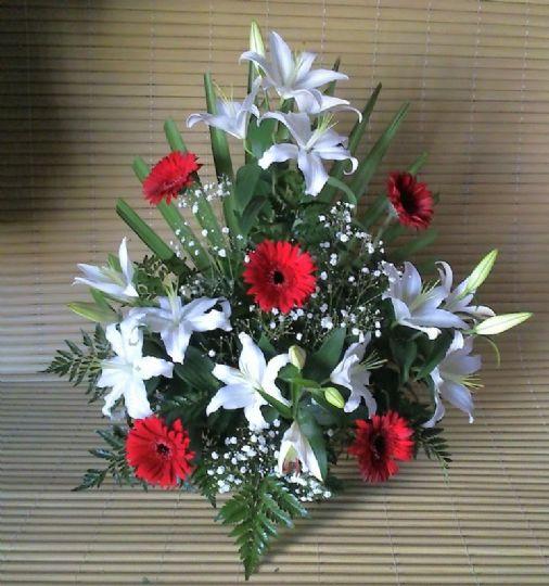 Centros de flores para el dia de todos los santos - Como hacer centro de flores artificiales ...