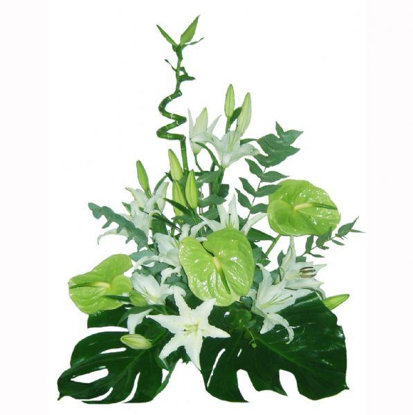 Centro flores colores naturales env o a domicilio en el d a - Centros de plantas naturales ...