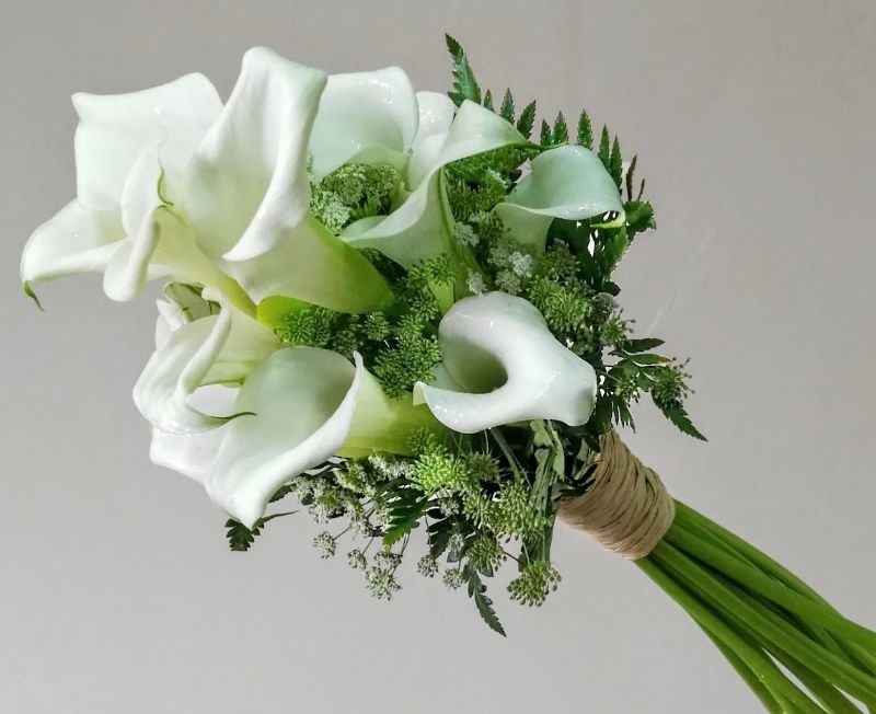 Ramo Novia Con Flores Preservadas