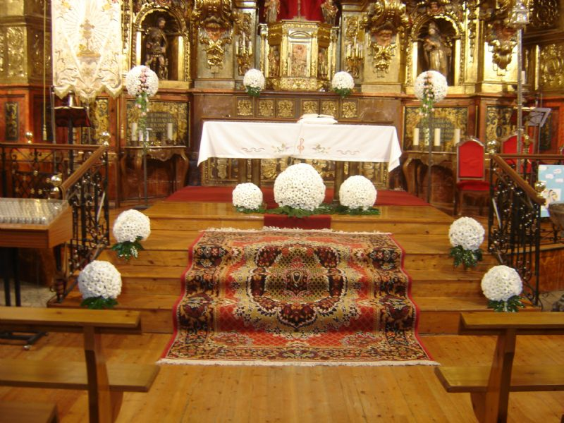 florales para iglesias en zamora