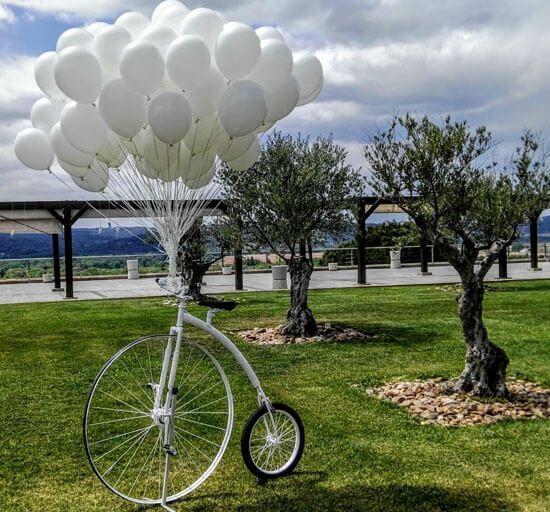 Bicicletas Antiguas Decoración Jardín Y Fotos Para Boda