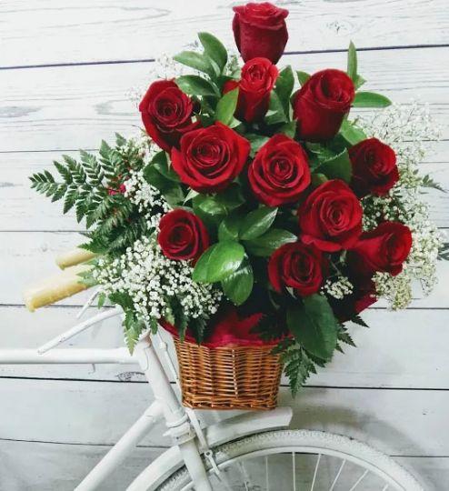 colores de los ramos de rosas para cumpleaos