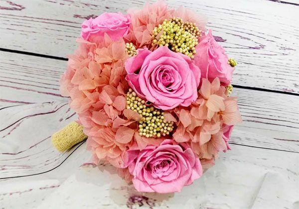 Ramos Novia Con Flores Preservadas Te Durara Anos