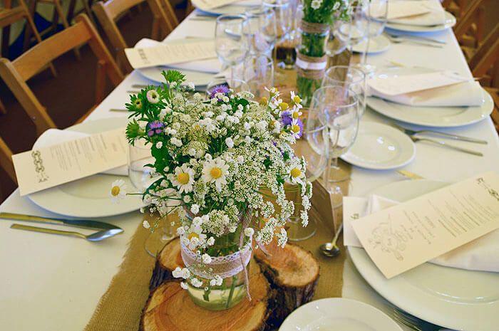 8 flores silvestres para tu ramo de novia y la boda